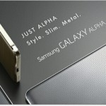 "Samsung announce the ""premium"" Galaxy Alpha"