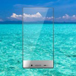 Sharp Aquos Crystal the first truly bezel-free smartphone?