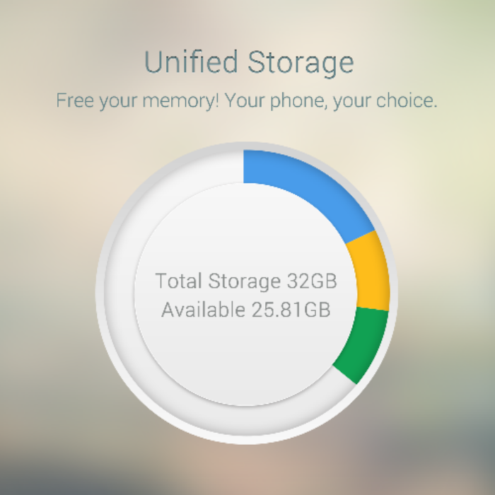 Oppo preview unified storage for the Find 7a