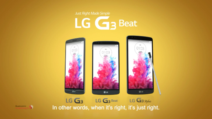 LG kind of leak the G3 Stylus themselves
