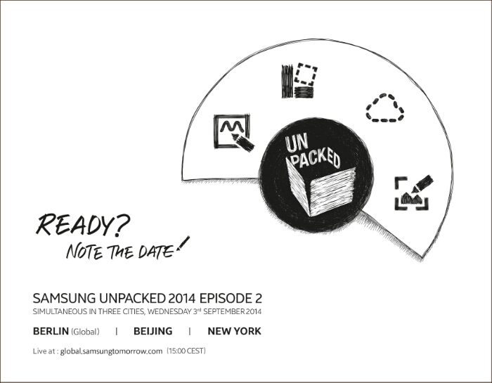 Samsung officially announce their next unpacked event