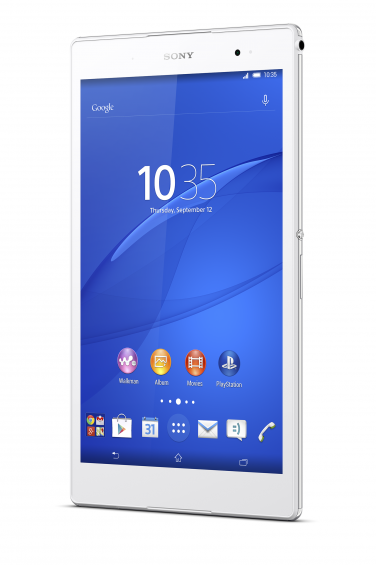 01 Xperia Z3 Tablet Front