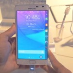 Samsung Galaxy Note Edge – Up close