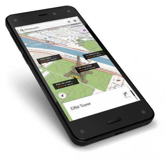 FirePhone D Maps Yelp