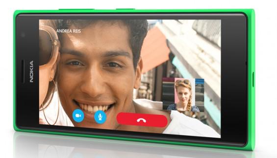 Lumia735 Skype