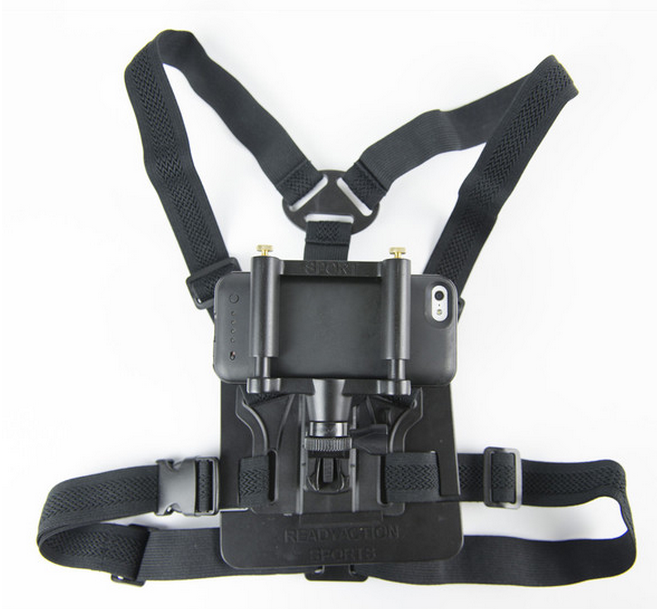 Taking a ride with the READYACTION chest harness