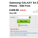 Weekend deals – The Galaxy S4 Zoom