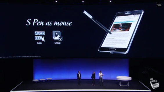 Samsung announce the Note 4