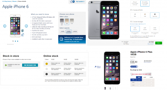 iPhone 6 launches and promptly sells out