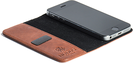 The Access Case is a Minimal Leather Case for iPhone