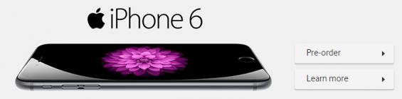 Vodafone iPhone 6 Pre order details