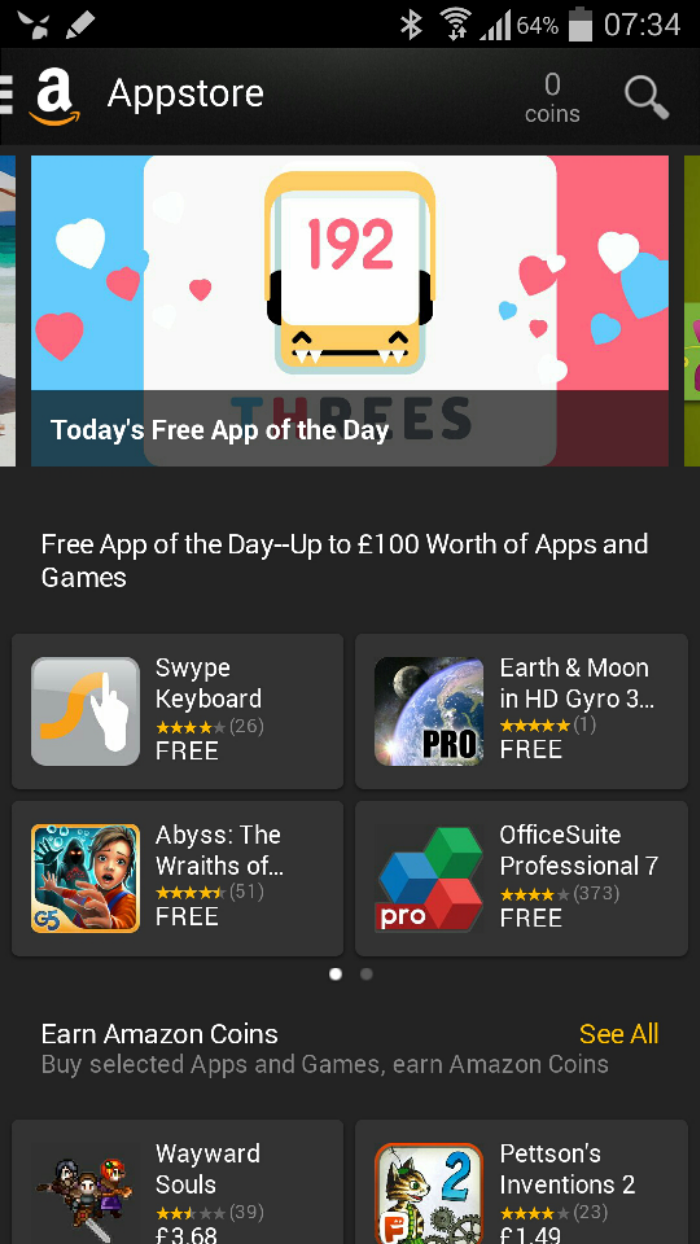 £100 worth of free apps and games today