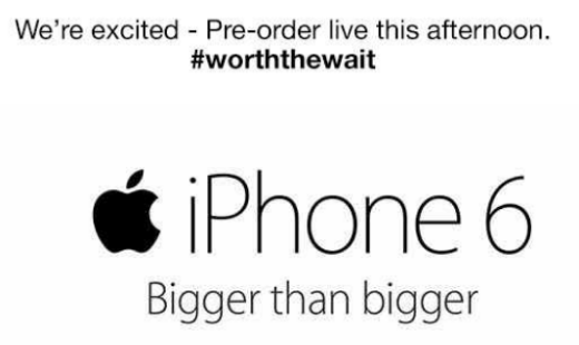 More iPhone 6 pre order details