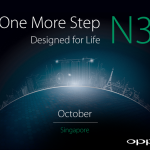 The Oppo N3 starts to make an appearance