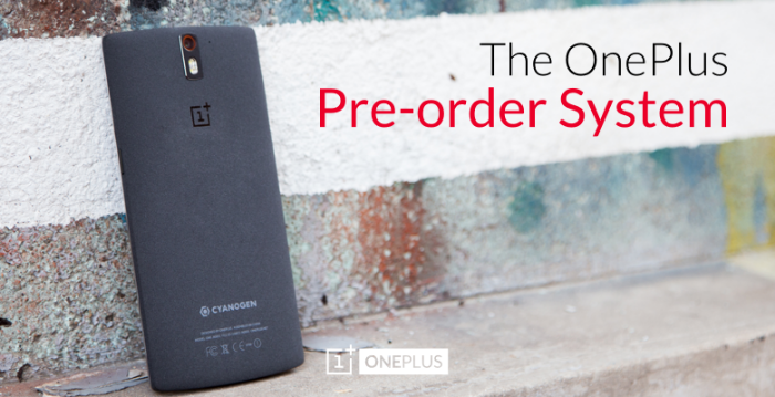 OnePlus to try the pre order route next