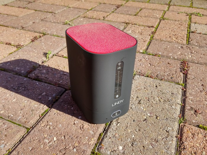 LINDY BTS 360 Bluetooth speaker review