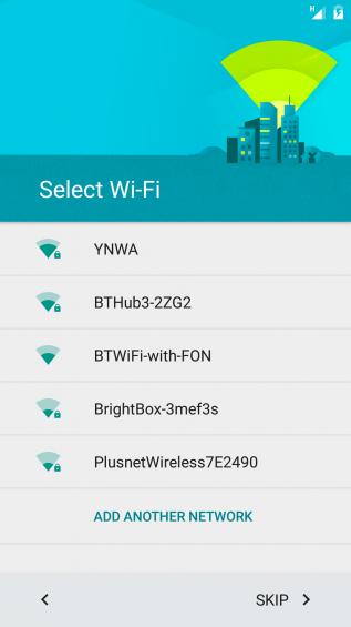Logon to WiFi