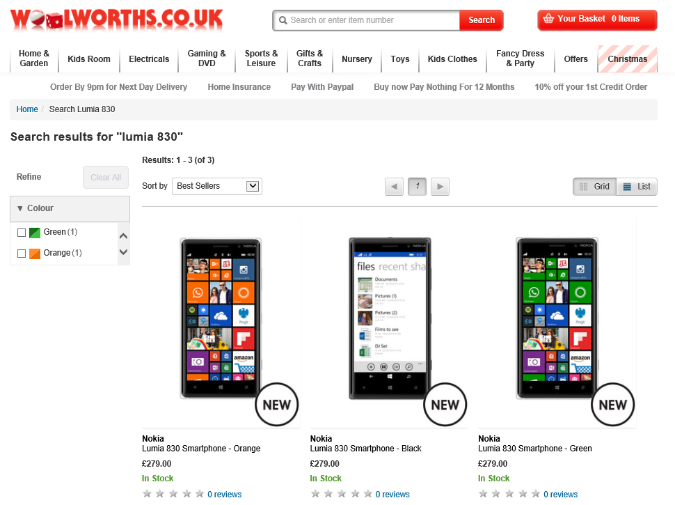 Lumia 830 released today