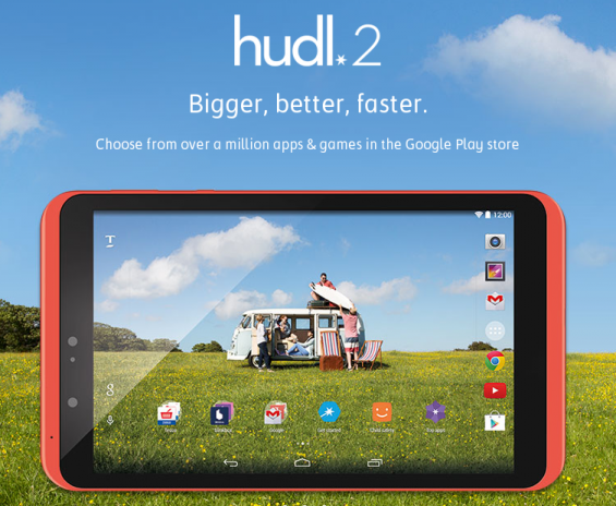 Tesco Hudl 2 arriving next week