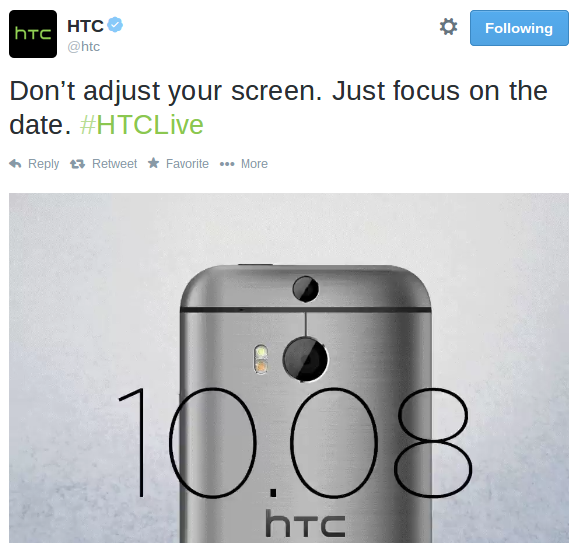 HTC Event coming live from NYC tomorrow
