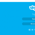 Skype on a Chromebook – Here, fixed that for you.