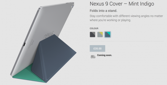 Nexus 9 available for pre order now from Play Store
