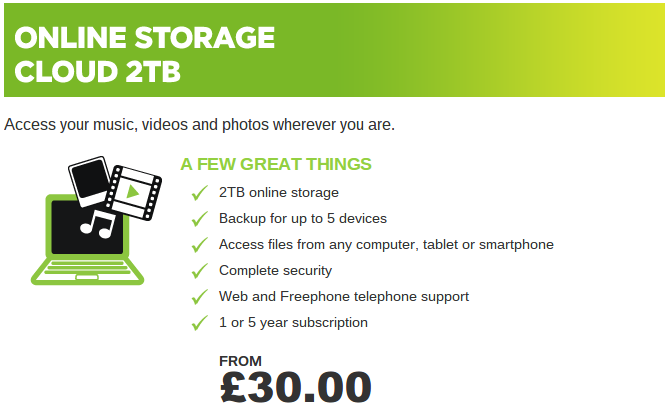 You want a serious amount of online storage?