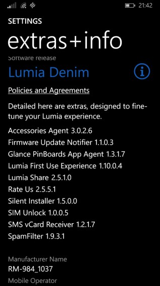 Lumia Denim update coming soon