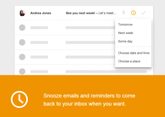inbox snoozing