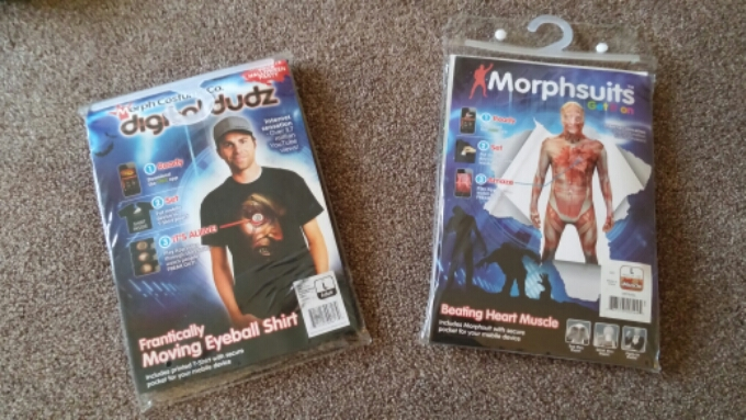 Halloween Smartphone Spookiness. Morph Costumes reviewed.