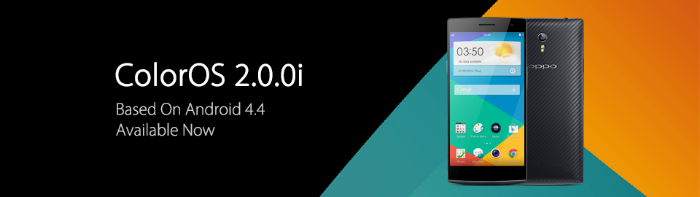 Oppo update the Find 7/7a with KitKat