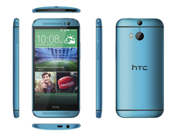 Fancy a Blue HTC One M8?