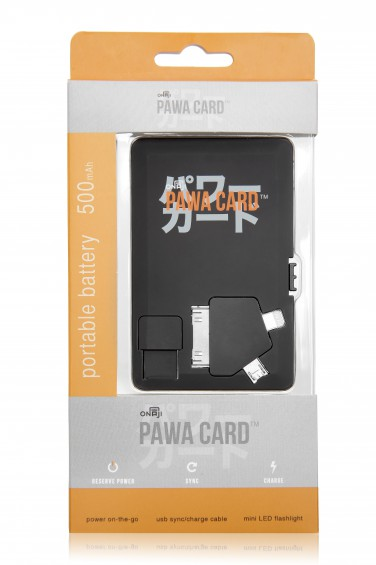 Onaji Pawa Card Pack Shot Front