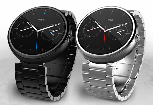 Moto 360 gets a little bit more watch like