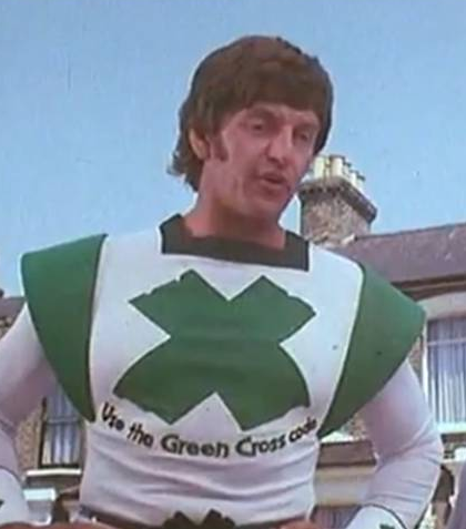 The Green Cross Code Man makes a comeback, and you better listen son.