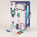 Doodle, scribble, colour in. It's no problem on these new cases