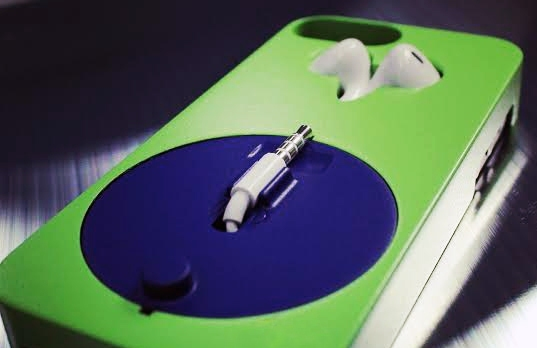 Forgot your headphones? How about a case that remembers them?