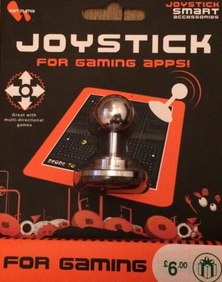 Adding a Joystick to your Tablet   a look at the Satzuma Joystick