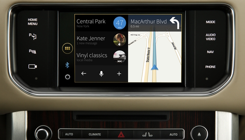 Jaguar Land Rover adds justDrive for information and entertainment