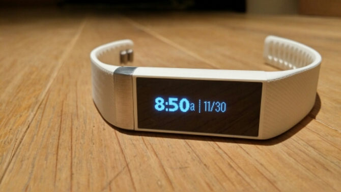 Acer Liquid Leap Smart Band in action