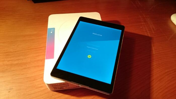 Nexus 9 Unboxing