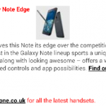 Galaxy Note Edge on the way to Vodafone UK