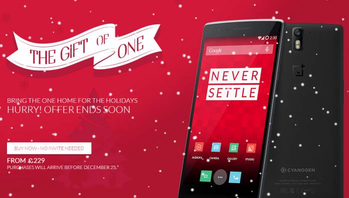 Buy the OnePlus One, invite free