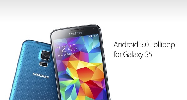 Samsung Galaxy S5 getting Android 5.0 Lollipop