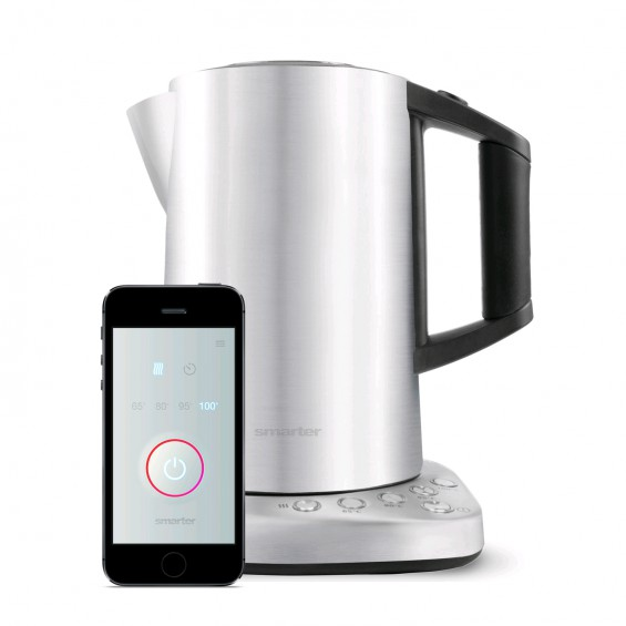 smarter wifi stainless steel kettle