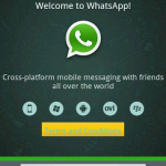 WhatsApp on top of your lap – or just on your laptop?