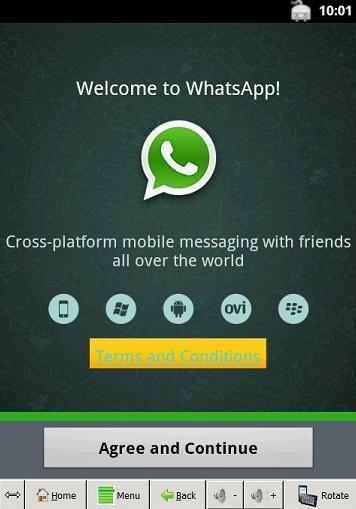 whatsapp on desktop