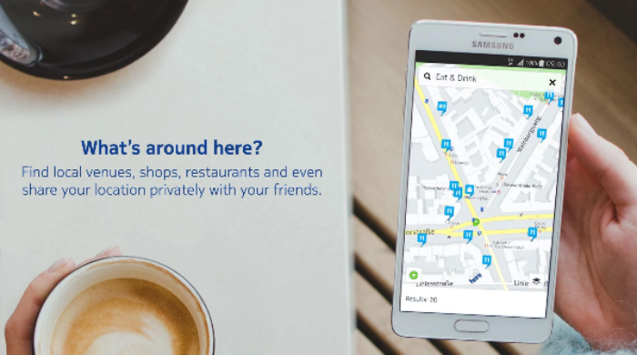 HERE Maps is now available on the Google Play Store