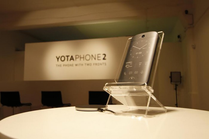 Yotaphone 2   Close up