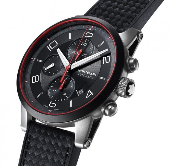 Montblanc Timewalker urban speed e strap watch 6